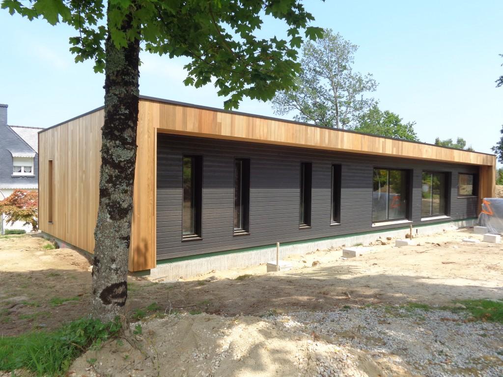 exemples de chantiers maison serru bois. Black Bedroom Furniture Sets. Home Design Ideas