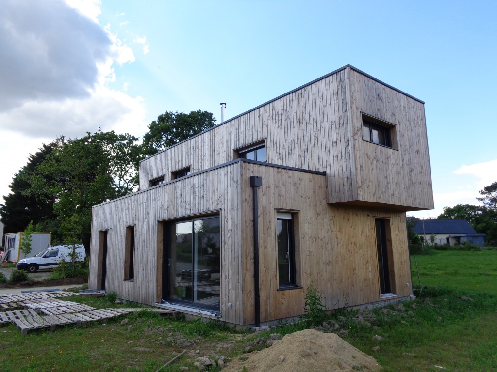 construction de maisons en bois morbihan serru habitat bois. Black Bedroom Furniture Sets. Home Design Ideas