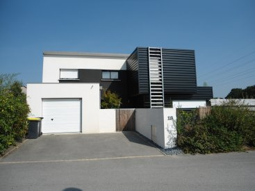 Nos r alisations de maison extension maison en bois for Porche de maison en bois