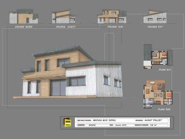 Maison monopente Bignan