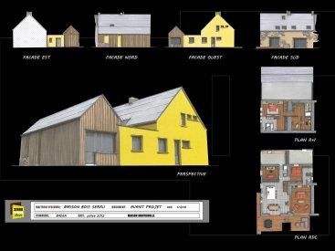 Extension et rénovation à Baden