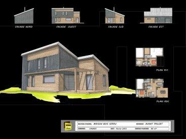 Maison monopente à Vannes