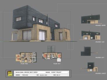 Projet maison à Trefflean